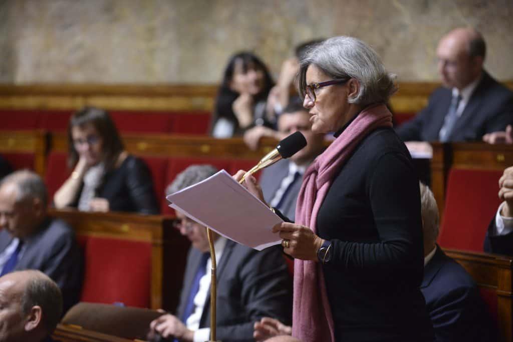 Marie France Lorho à l'aseemblée nationale